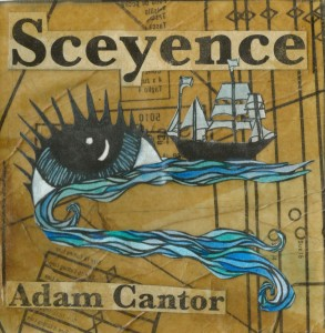 Album cover, Adam Cantor - Sceyence